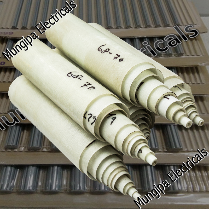 Epoxy glass fibre tubes (FRP)